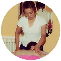 Eine Erstklassige Massage